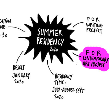 SUMMER 2020 RESIDENCY – CONTEMPORARY ART PROJECT