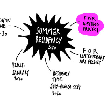 SUMMER 2020 RESIDENCY CALL – WRITING PROJECT