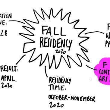 FALL 2020 RESIDENCY OPEN CALL – CONTEMPORARY ART